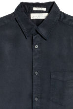 Lyocell shirt - Black - Men | H&M CN 2